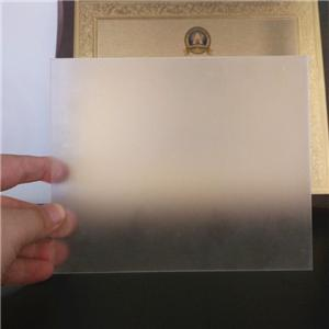 Rectangle Lucite Clear PMMA Board Frosted Satin Ice Acrylic Sheet