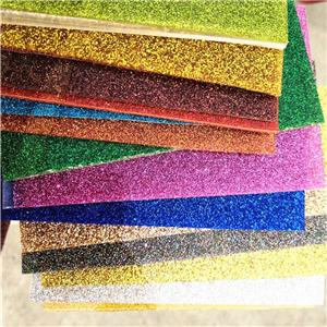 glitter acrylic sheet acrylic material 3mm glitter plastic sheets for decoration