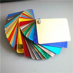 Mirror Acrylic Material For Mirror Invitation Card