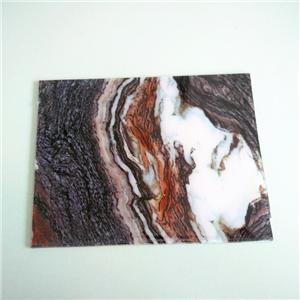 Thick Customize Marble Grammar Pattern Acrylic Board Acrylic Sheet