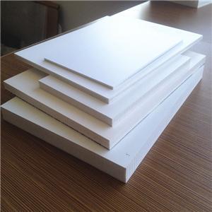 pvc white 0.55 density PVC foam sheet