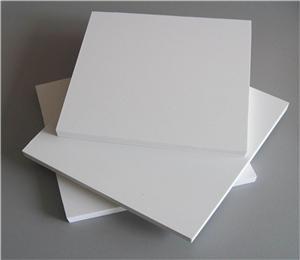 1220*2440mm 1.6g/cm3 grey white green pvc foam board pvc rigid sheet