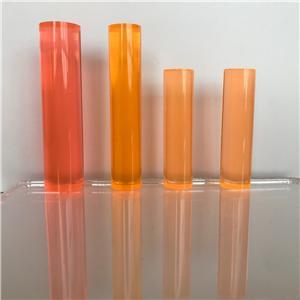 round acrylic rod clear bubble PMMA acrylic plastic rods