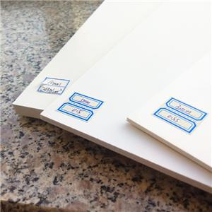 pvc foam board manufacturers lamina de pvc blanco