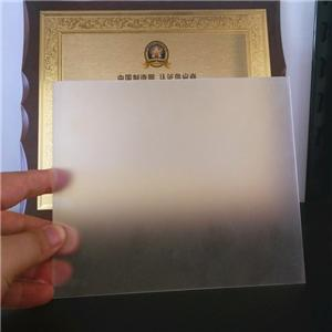 1/4'' 6mm thick acrylic frosted sheet for furniture