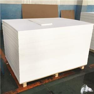 3mm thick plastic sheet main used for printing and advertising 1220x2440mm wholesale pvc foam board