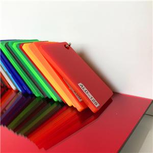 Alands acrylic perspex 1220*2440mm clear color acrylic plastic sheet