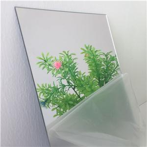 4*8ft pmma plastic 1.5mm mirror acrylic sheet silver color