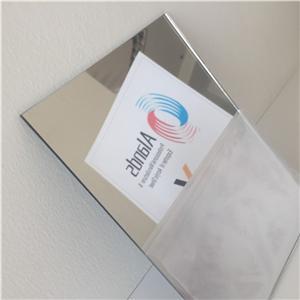 High gloss mirrored perspex 1mm 2mm plexi acrylic mirror sheet