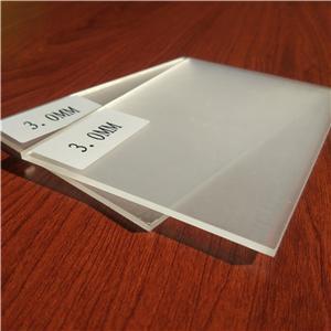 wholesale clear/transparent large thick cast acrylic sheet
