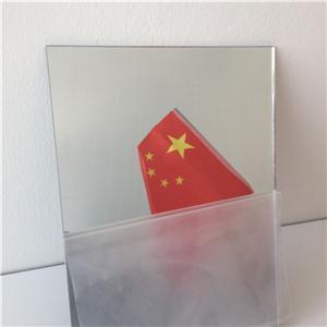 Breakage-proof pmma acrylic mirror plastic sheet wall sticky