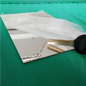 China factory hot sale silver acrylic mirror glass sheet