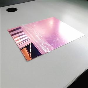 Rose gold acrylic mirror silver acrylic mirror sheet 3mm
