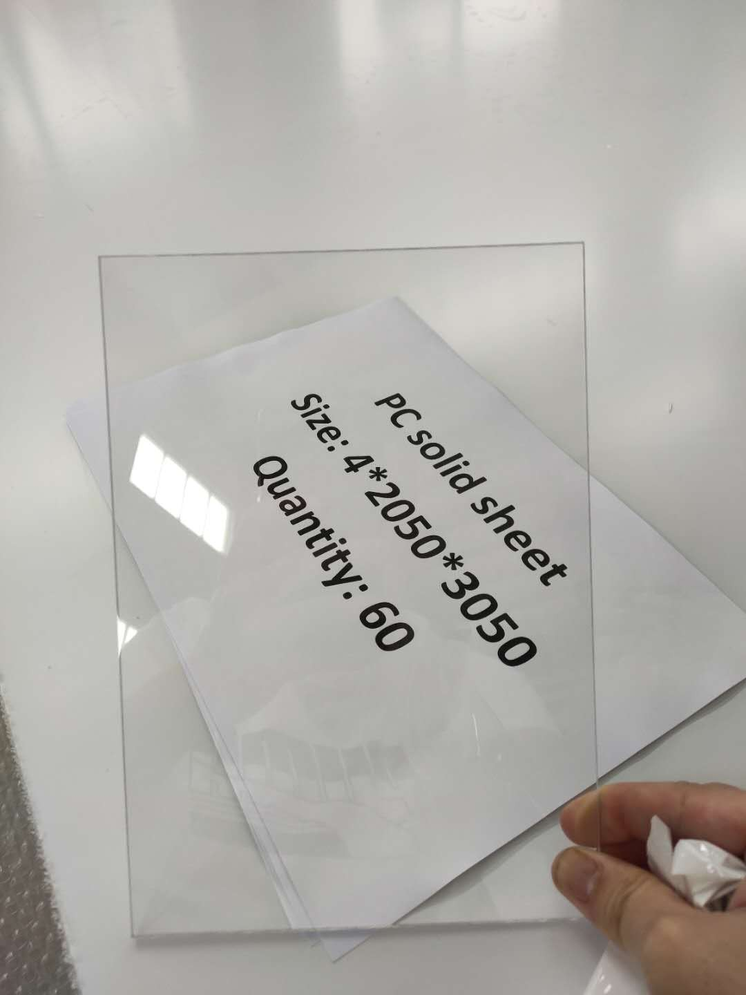 PC Polycarbonate Board 2050*3050mm 1220*2440mm factory price China supplier