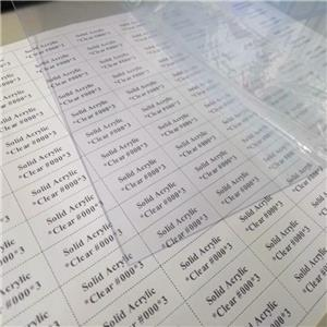 0.3mm 0.5mm 1mm clear PET and PETG sheet
