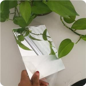 1mm 1.5mm silver and gold acrylic pmma mirror sheet
