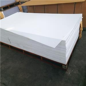 3mm 5mm thick Opal white color acrylic sheets 1220x2440mm