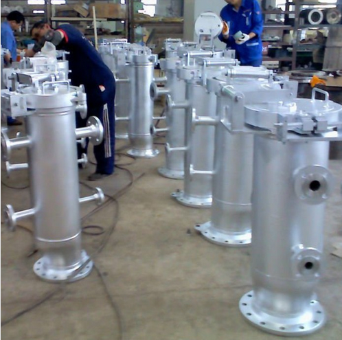 Carbon steel filter manufacture