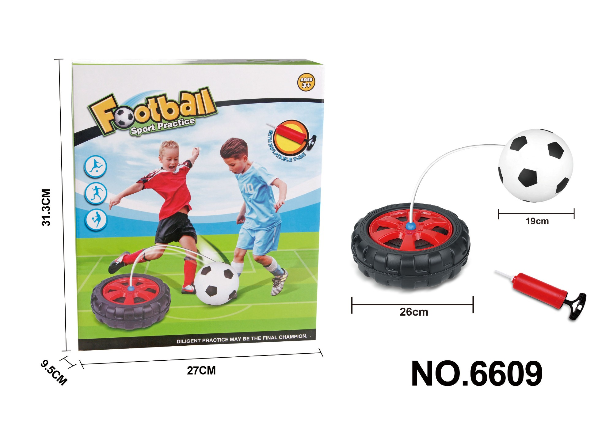football sport practice set
