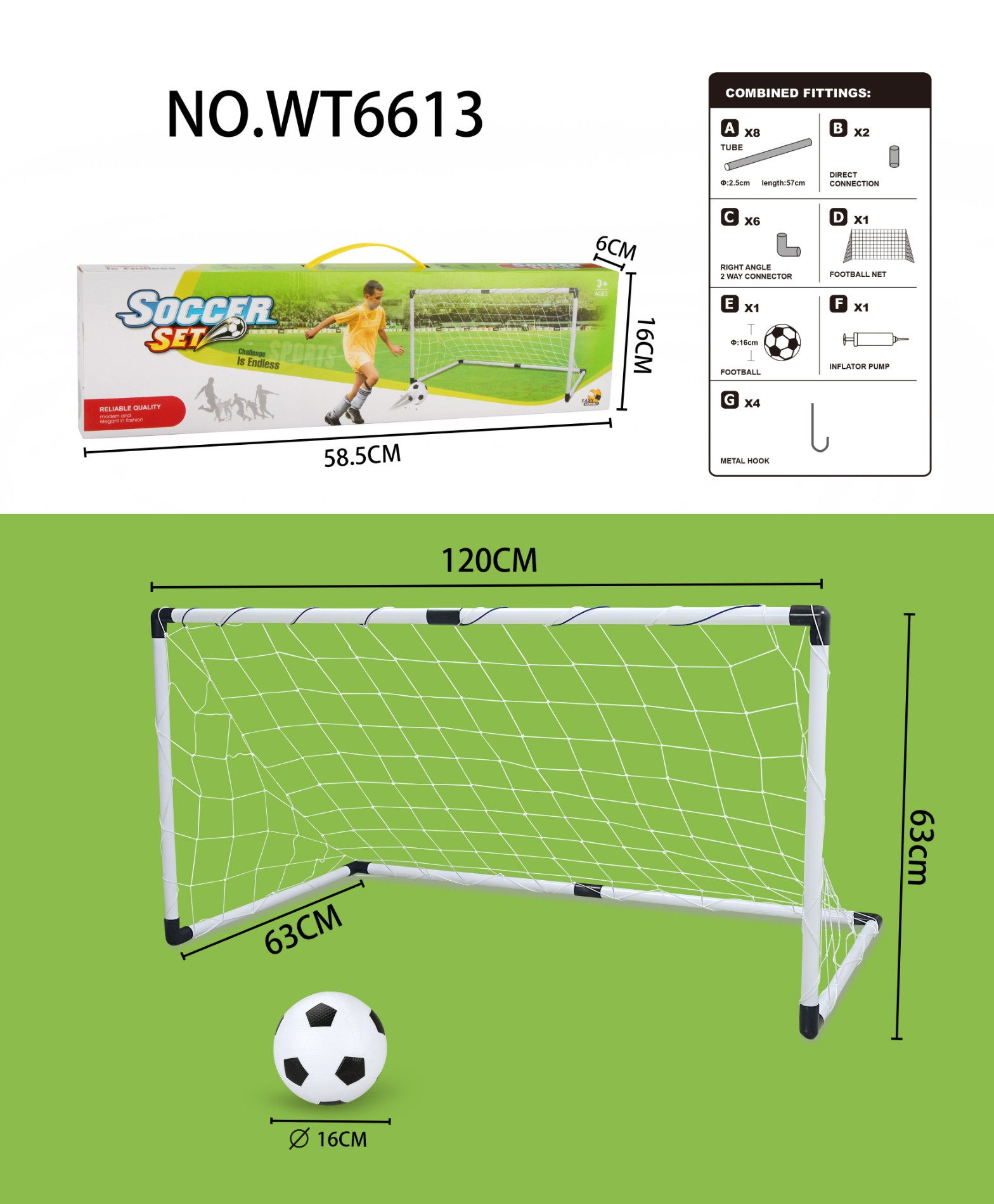 football gate set(middle size)