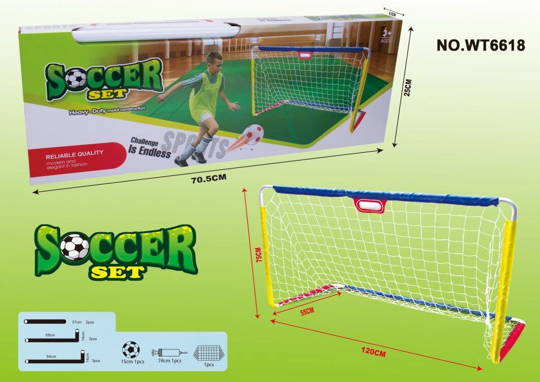 soccer set(heavy duty metal construction)