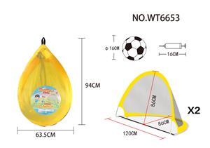 backpack folding football goal(large size)
