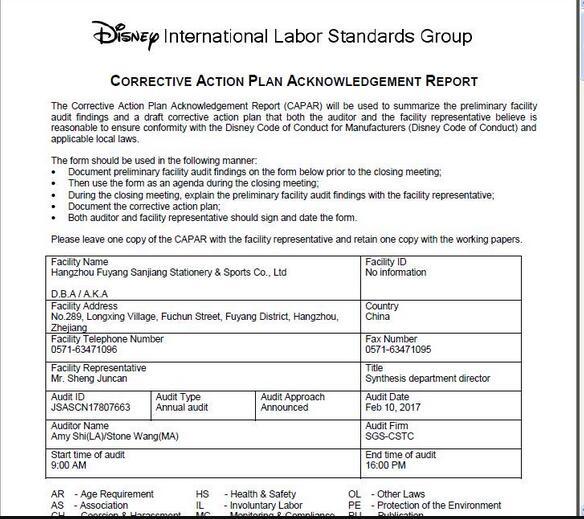 Disney Audit Factory