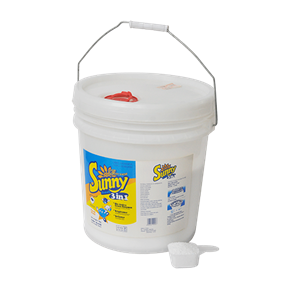 3 in 1 Sunny high performance laundry detergent powder 5kg plastic bucket
