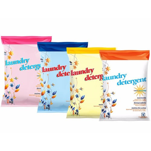 Pillow bag detergent powder