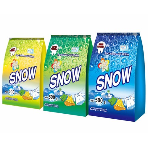 Stand bag detergent powder