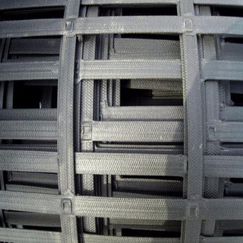 Steel-plastic Geogrid
