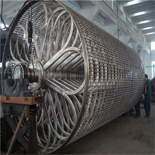 Paper mill SS cylinder mould for paper pulp