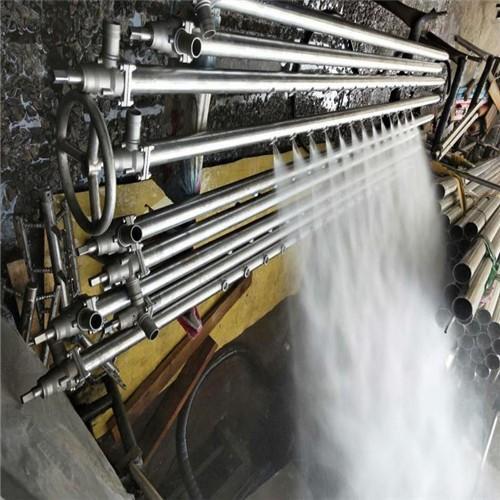 Stainless steel felt shower for paper mill