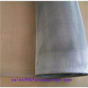 Aluminuim wire mesh s.s finish