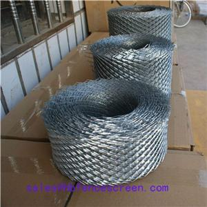 Expanded Brick mesh coil