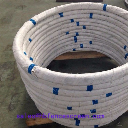 Hot dip galvanized Steel wire for fishing net