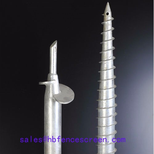 Supply Ground Screw, Ground Screw Factory Quotes, Ground Screw Producers