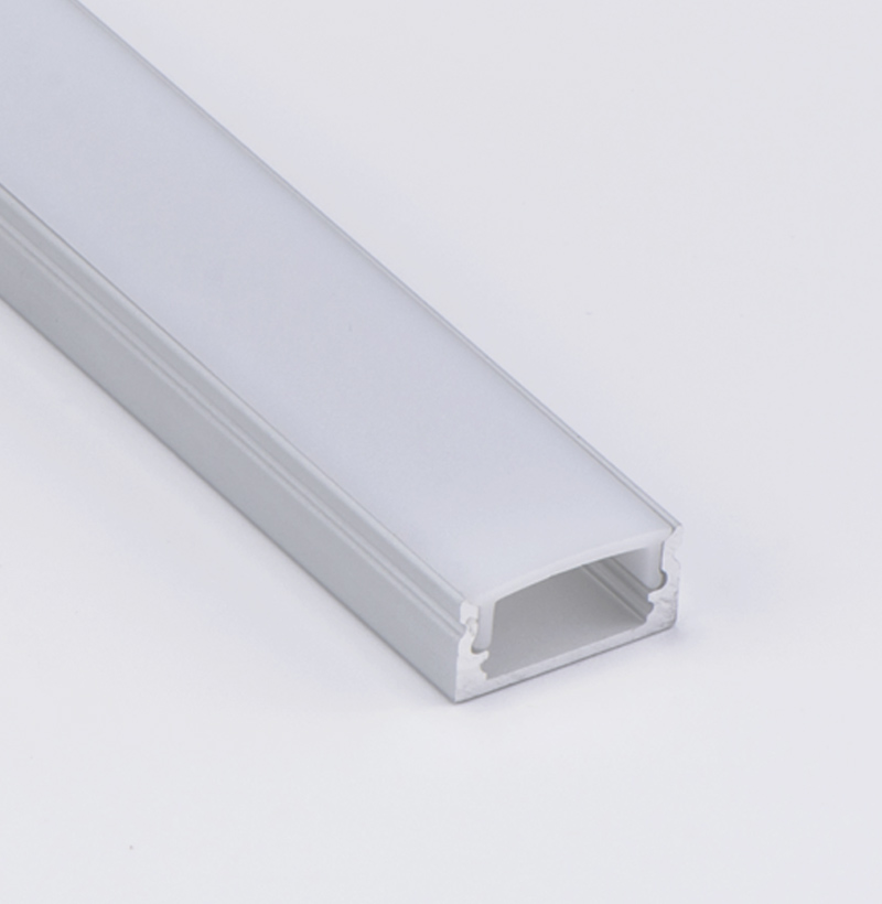 Thin and best seller square led profile