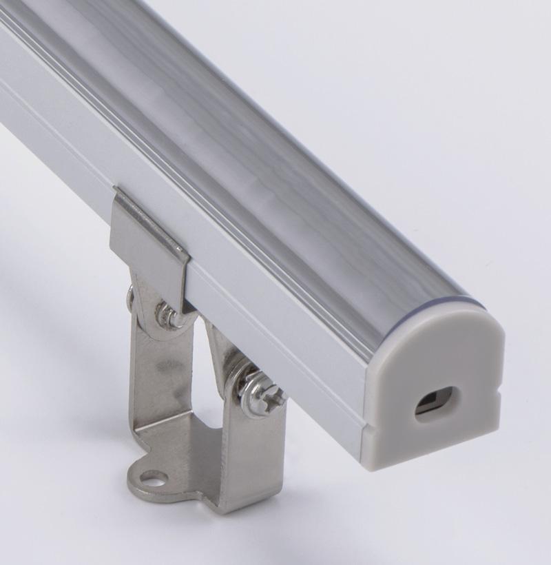 Justerbar aluminiumsprofilhus med lysvinkel
