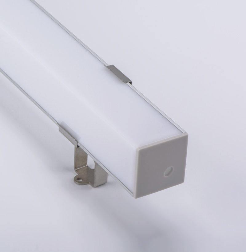 Corner 30°/60°aluminum surface mounting profile