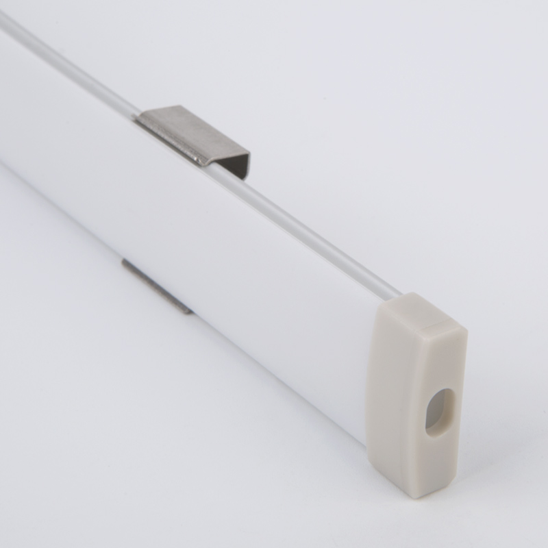 Slank overflademonteret fleksibel ledet profil