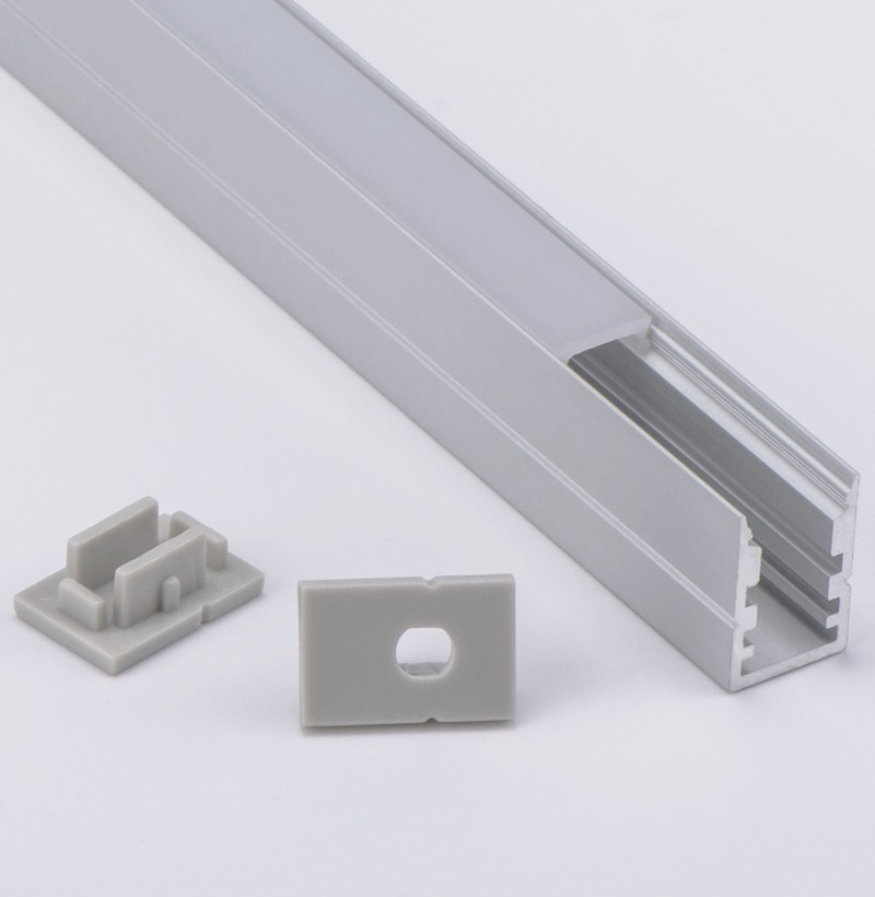 AS7 Superficie de montaje Led Perfil de aluminio