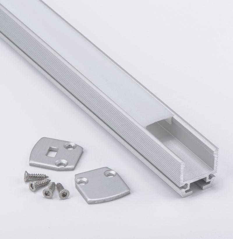 AP1 superficie de montaje Led perfil de aluminio