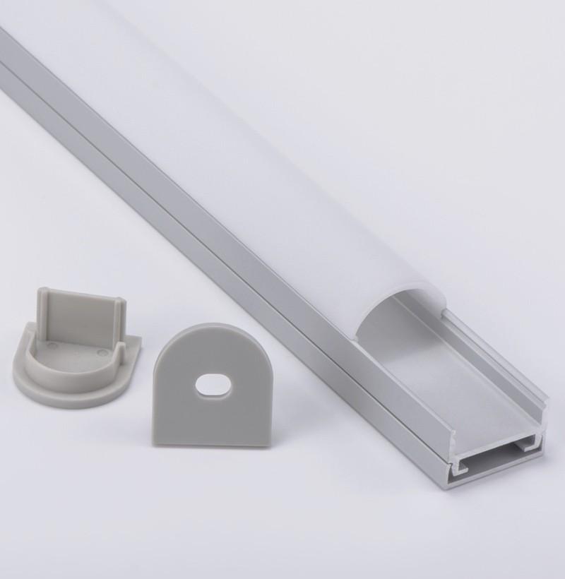 AT1 Perfil de aluminio montado en superficie