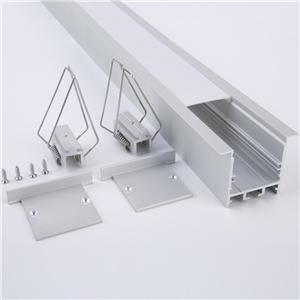 WN31 Wall Ceiling Recessed Led Aluminum Profile