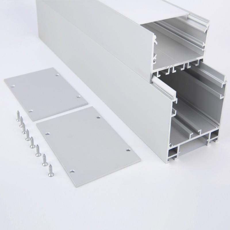 Perfil de aluminio led EH60
