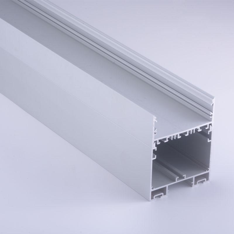2-parts designed built-in driver suspended aluminium led profile