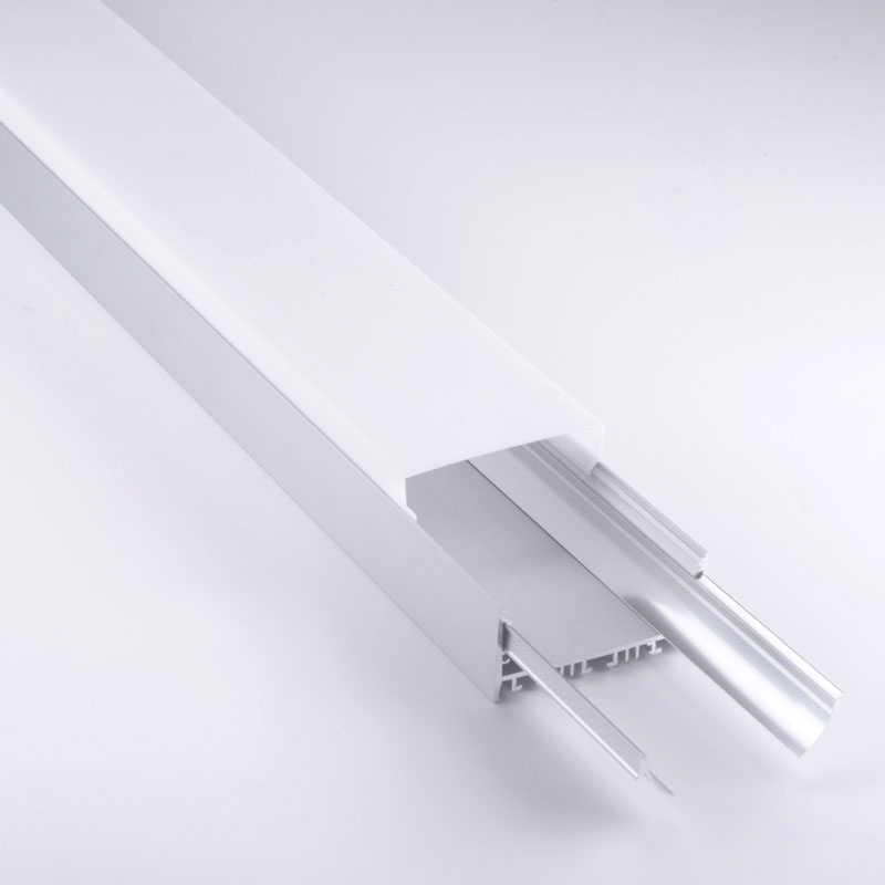 Shaped square led profile