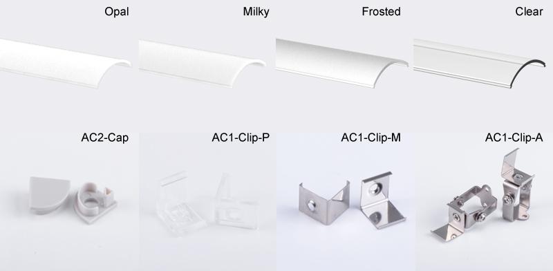 Corner Aluminium LED Profile for LED Strip