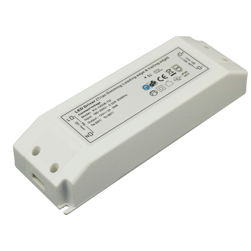 36W C.V. Triac Dimmable Driver